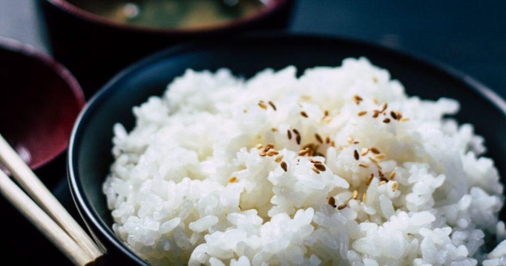 お米の水分