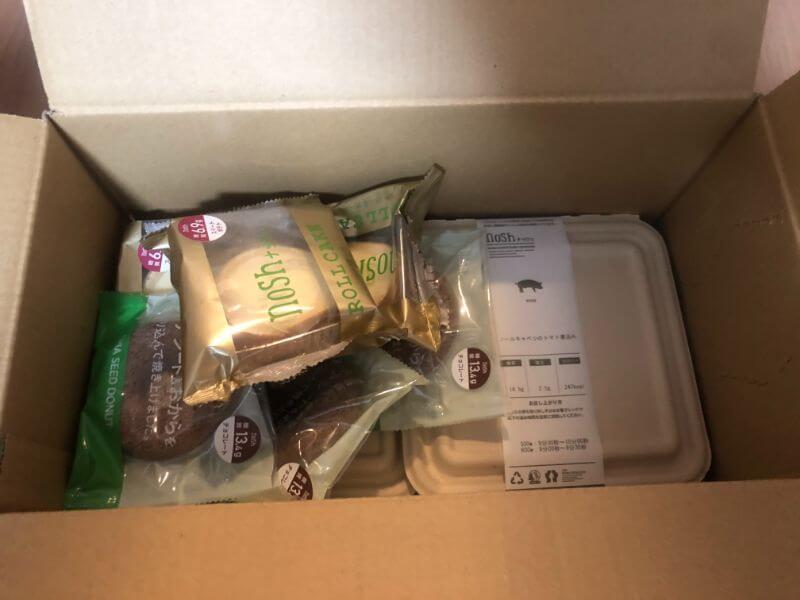 nosh6食プランの配送イメージ